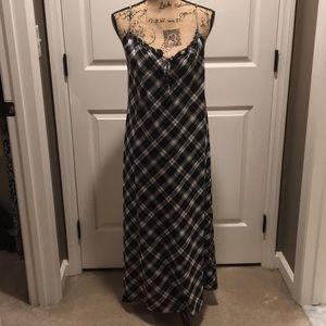 Ralph Lauren plaid dress.